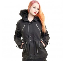 Poizen Industries - Black Gothic Chase Coat