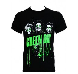 Green Day - Drip Type T-Shirt (Guys)