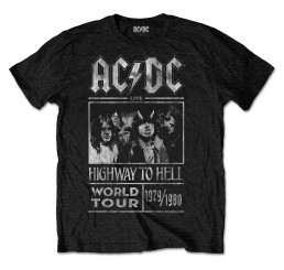 AC/DC - Highway To Hell World Tour T-Shirt 1979/1980