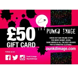 Punk'd Image £50 Gift Card