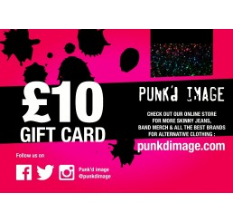 Punk'd Image £10 Gift Card
