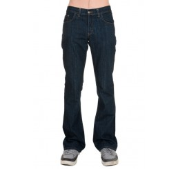 Punk'd Image - Indigo Denim Boot Cut Flared Jeans