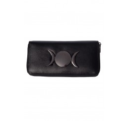 Banned Apparel - Vidonia Triple Moon Eclipse Wallet