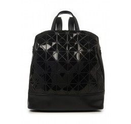 Banned Apparel - Black PU Faux Leather Vegan Prism Backpack