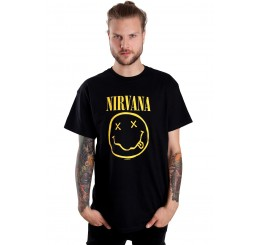Nirvana - Smiley T-Shirt (Guys)