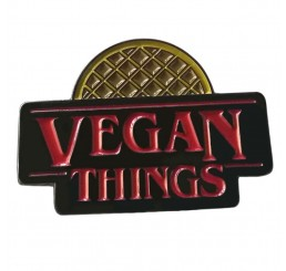 Vegan Things Enamel Pin