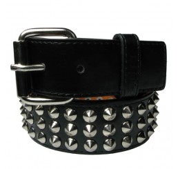 3 Row Conical Studded Belt