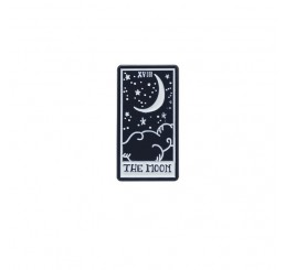 Moon Tarot Card Occult Gothic Enamel Pin