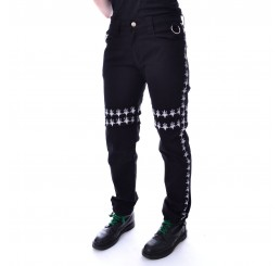 Heartless Pentagram Occult Pants Trousers