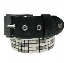 Punk'd Image - Grey 5 Row Studded Belt