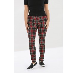 Hell Bunny Clash Skinny Trouser Jeans