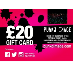 Punk'd Image £20 Gift Card