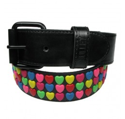 Punk'd Image - Lovehearts Studded Belt