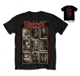 Slipknot New Masks T-Shirt
