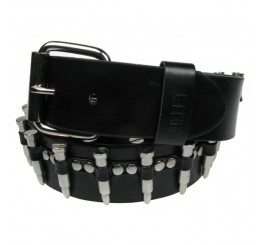 Punk'd Image - Nickel Bullet Studded Belt