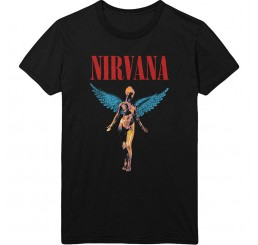 Nirvana Angelic In Utero T Shirt