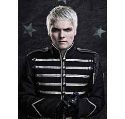 My Chemical Romance Silver MCR Black Parade Military Drummer Jacket
