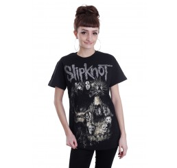 Slipknot - Skull Group T-Shirt