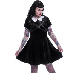 Heartless Clothing -  Wednesday Night Black Gothic Dress